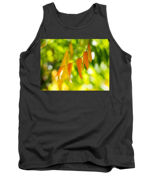 Tank Top featuring the photograph Turning Autumn by Aaron Aldrich