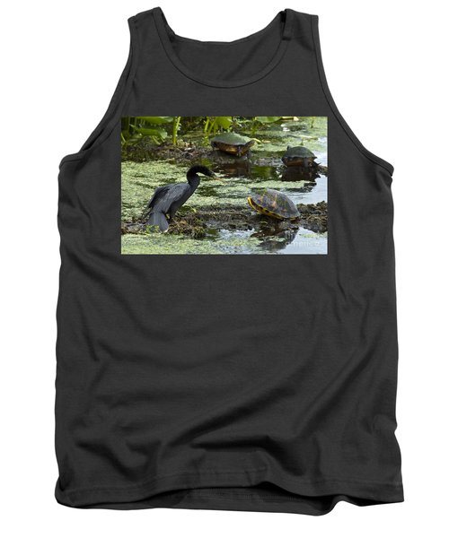 Turtles And Anhinga Tank Top