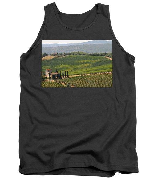 Tuscan Hillside Tank Top