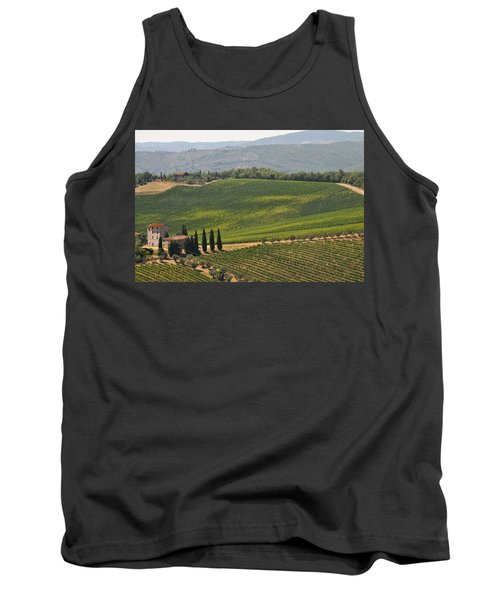 Tuscan Hillside Tank Top