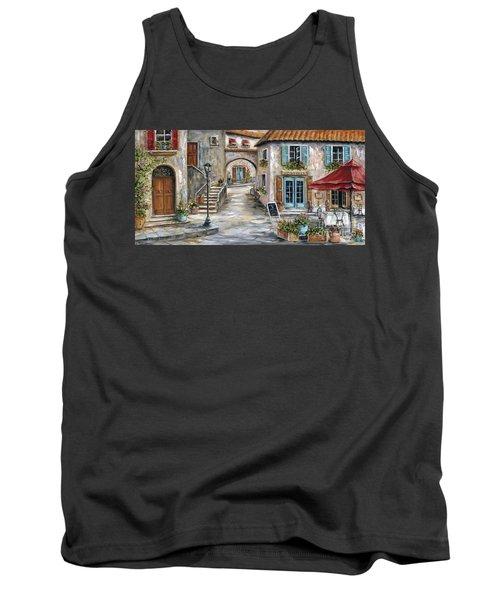 Tuscan Street Scene Tank Top