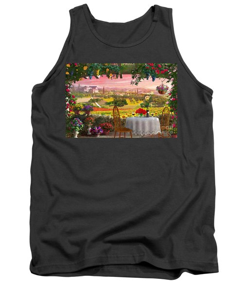 Tuscany Hills Tank Top by Dominic Davison
