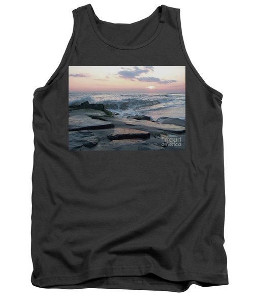 Twilight At Cape May In October Tank Top by Eric  Schiabor