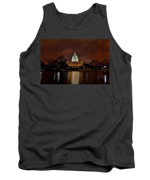 Twilight At The Capitol Tank Top