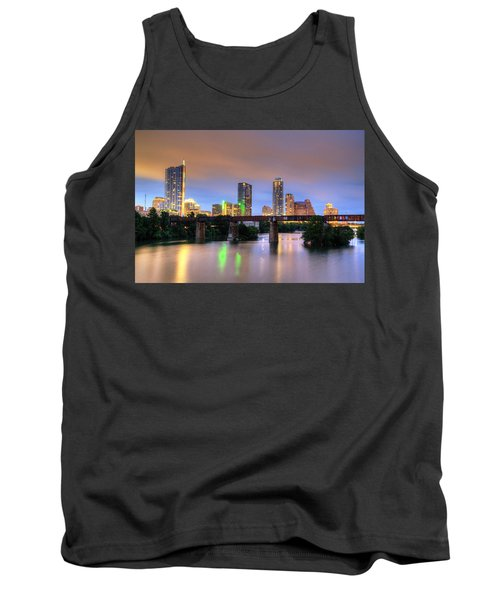 Twilight On The Lake Tank Top