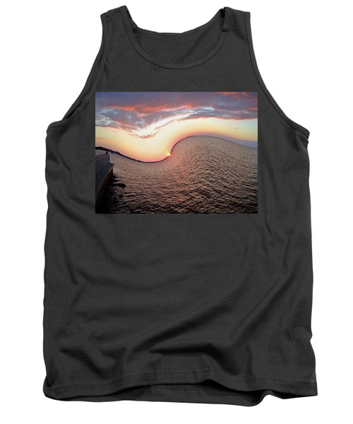 Tank Top featuring the photograph Twisted Sunset by Aimee L Maher Photography and Art Visit ALMGallerydotcom