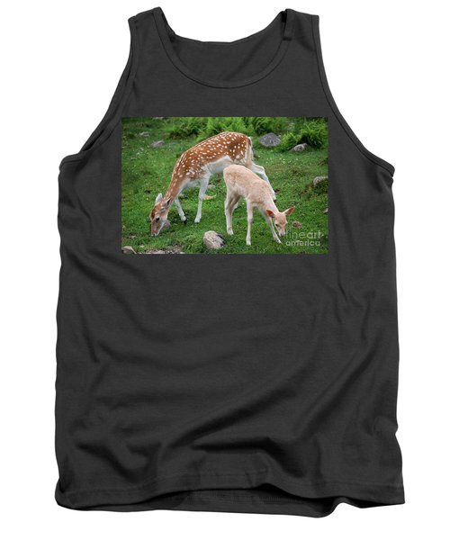 Tank Top featuring the photograph Two Babes by Bianca Nadeau