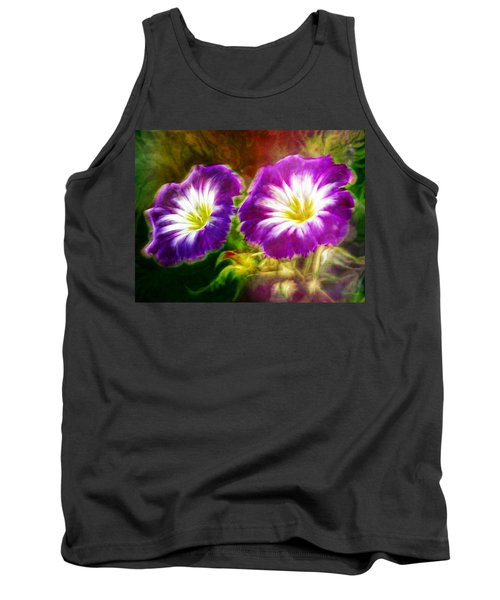 Two Eyes Of Heaven Tank Top by Lilia D