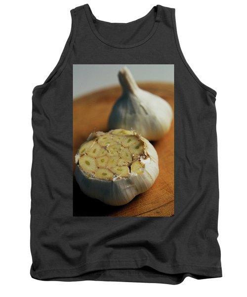 Two Heads Of Garlic Tank Top