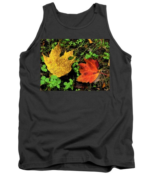 Two Leaves Tank Top
