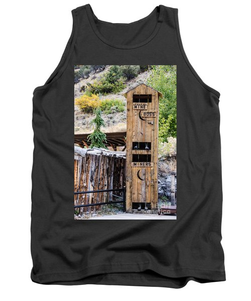 Two-story Outhouse Tank Top