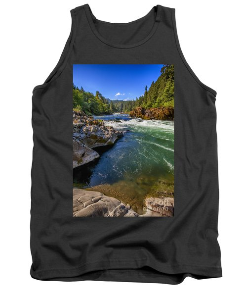 Tank Top featuring the photograph Umpqua River by David Millenheft