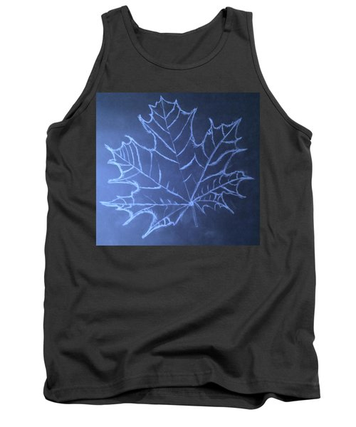 Uncertaintys Leaf Tank Top