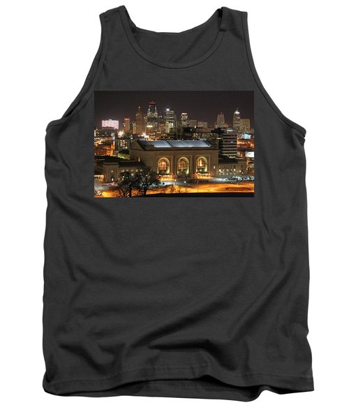 Union Station At Night Tank Top