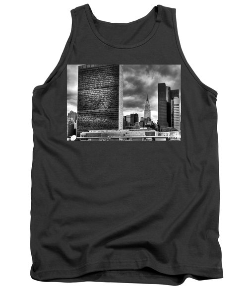 United Nations And Chrysler Building Tank Top