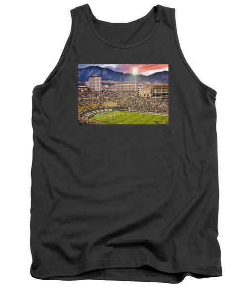University Of Colorado Boulder Go Buffs Tank Top by James BO  Insogna
