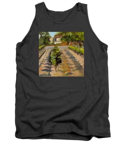 Tank Top featuring the painting Unparalleled Richness by Pattie Wall