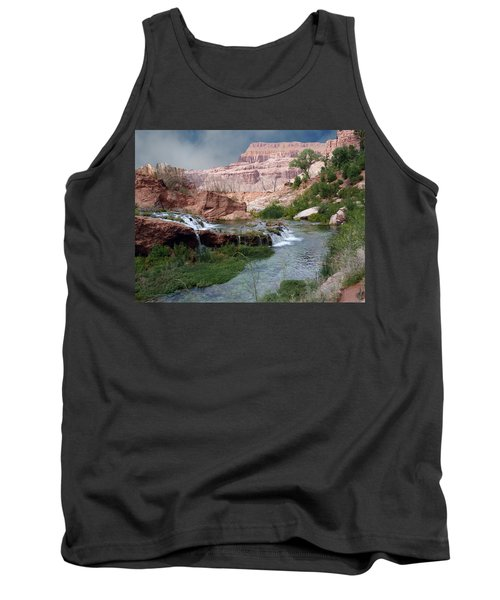 Unspoiled Waterfall Tank Top