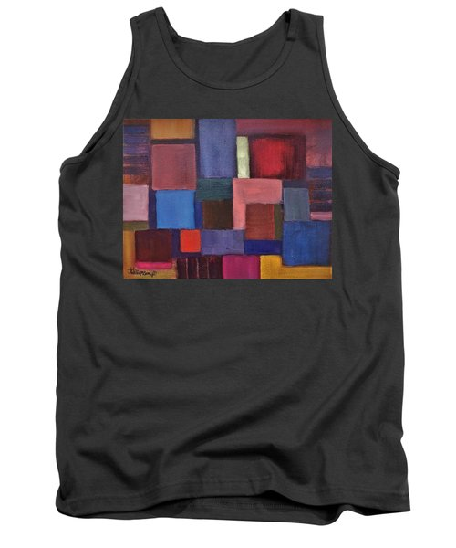 Tank Top featuring the painting Untitled #7 by Jason Williamson