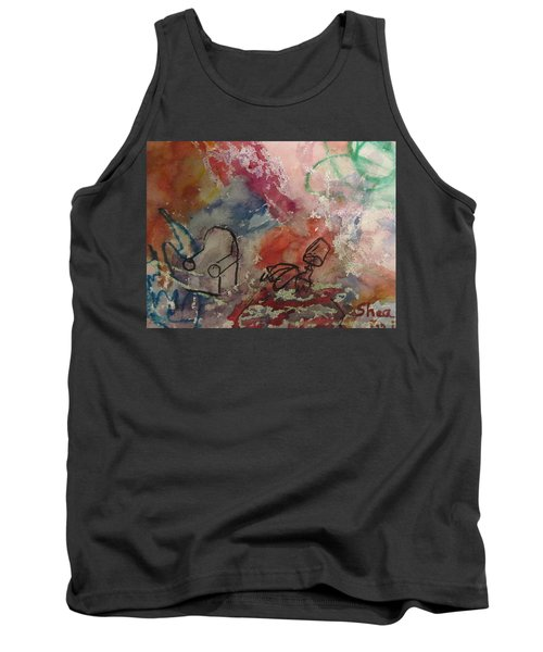 Untitled Watercolor 1998 Tank Top