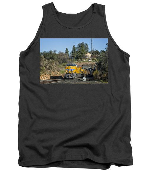 Tank Top featuring the photograph Up 8267 by Jim Thompson
