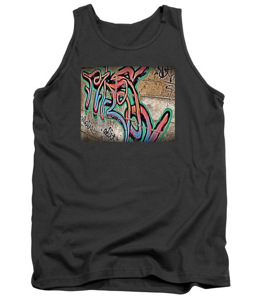Tank Top featuring the photograph Urban Expression by Steven Milner