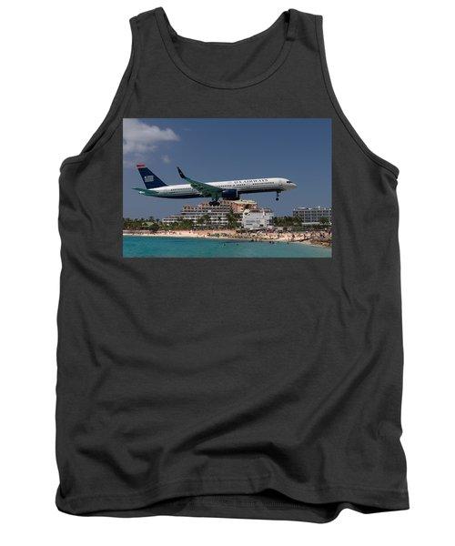 U S Airways At St Maarten Tank Top