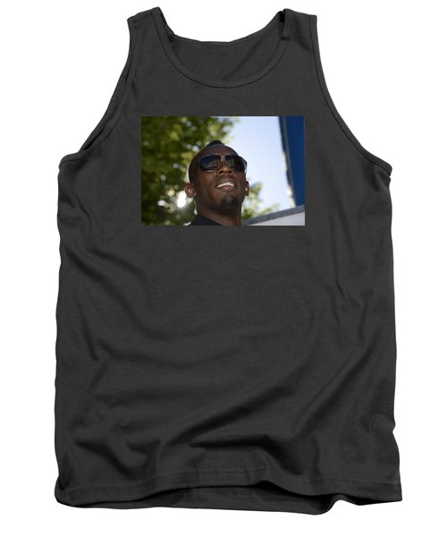 Usain Bolt - The Legend 1 Tank Top by Teo SITCHET-KANDA