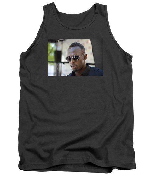 Usain Bolt - The Legend 3 Tank Top by Teo SITCHET-KANDA