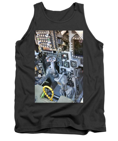 Usmc Av-8b Harrier Cockpit Tank Top