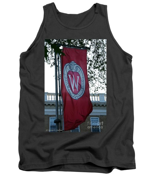 Uw Flag Tank Top