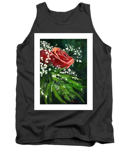 Valentine Rose Tank Top