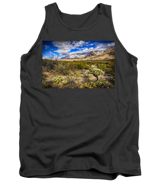 Tank Top featuring the photograph Valley View 27 by Mark Myhaver