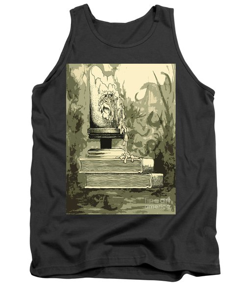 Bougie Tank Top by Julio Lopez