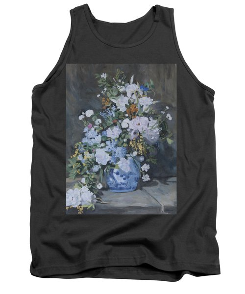 Vase Of Flowers - Reproduction Tank Top
