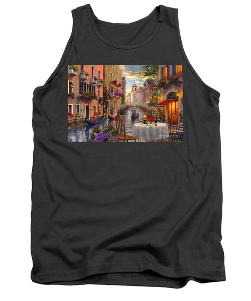 Venice Al Fresco Tank Top by Dominic Davison