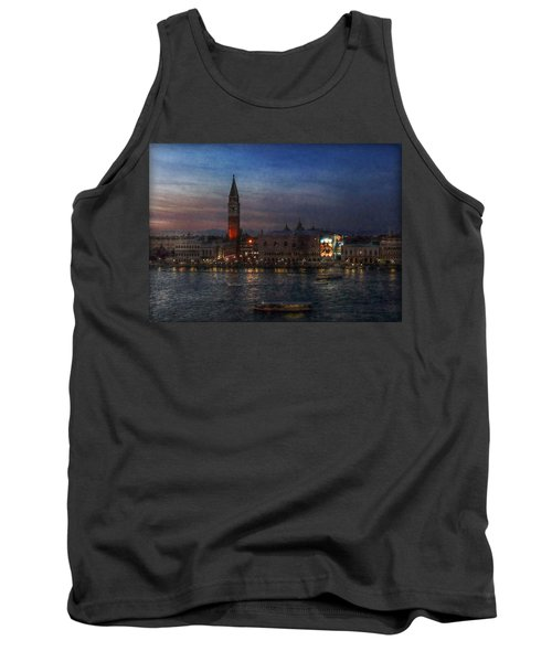 Tank Top featuring the photograph Venice By Night by Hanny Heim