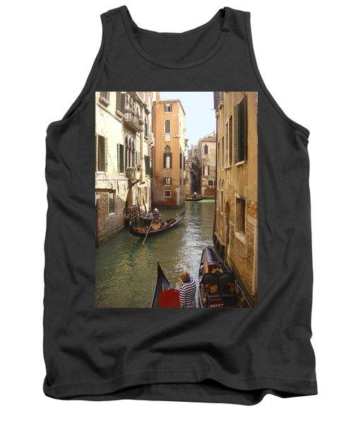 Venice Gondolas Tank Top