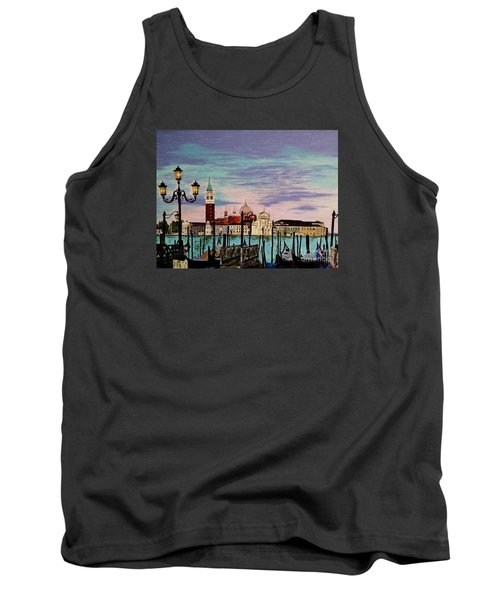 Venice  Italy By Jasna Gopic Tank Top by Jasna Gopic