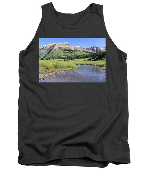 Verdant Valley Tank Top by Eric Glaser