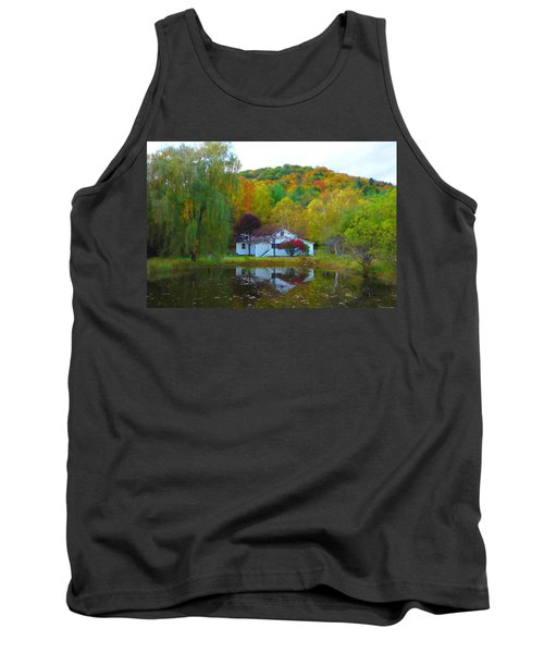 Vermont House In Full Autumn Tank Top