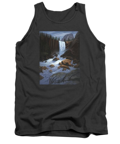 Vernal Falls Yosemite  Tank Top