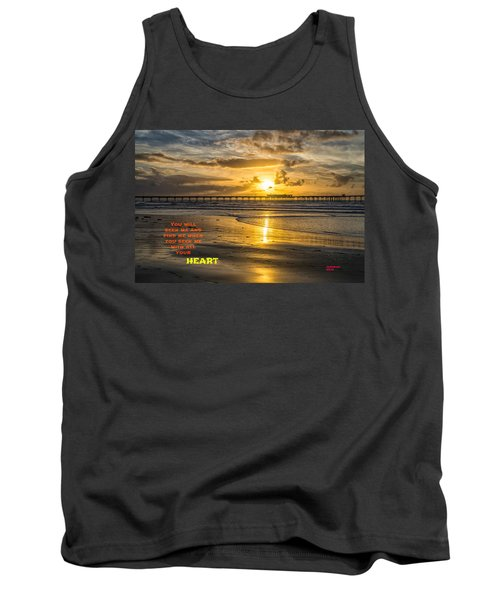 Vibrant Sunset Tank Top