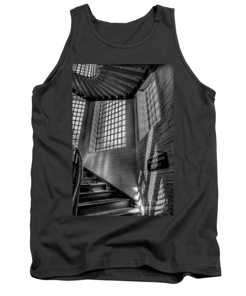 Victorian Jail Staircase V2 Tank Top