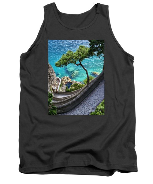 View From Capri.italy Tank Top