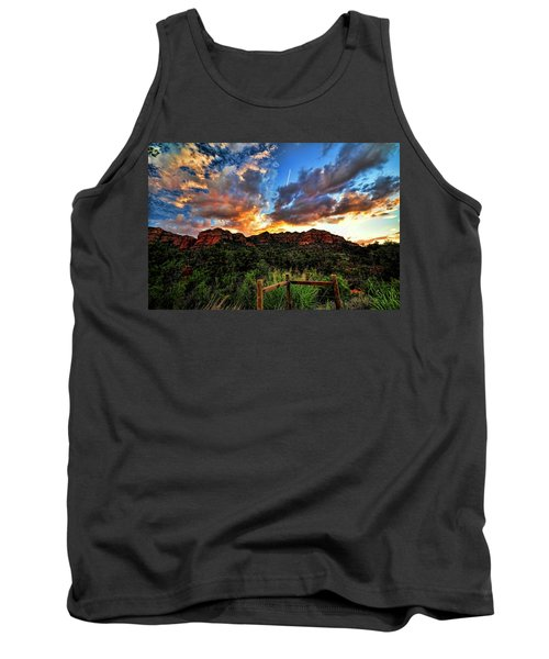 View From The Fence  Tank Top