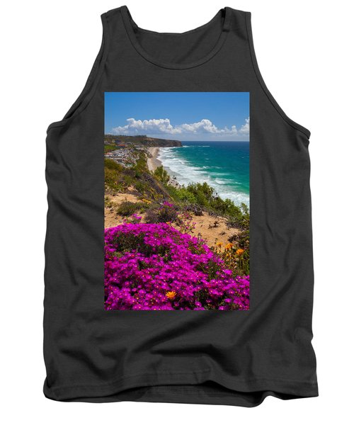 View Of Strand Beach And Dana Point Headland Tank Top