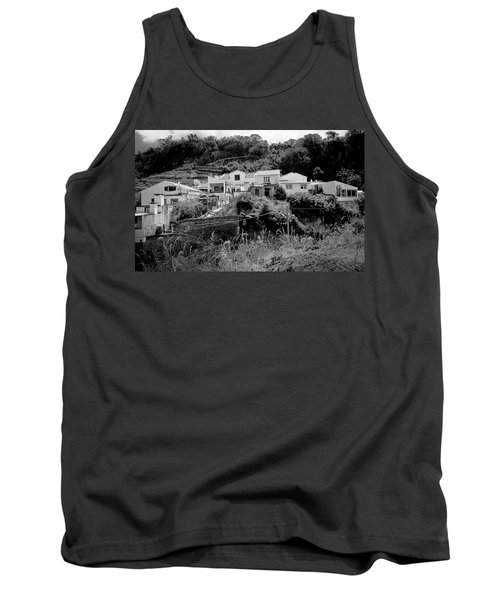 Village Nestled In The Hills  Tank Top