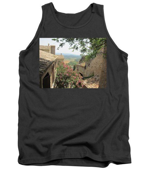 Tank Top featuring the photograph Village Vista by Pema Hou
