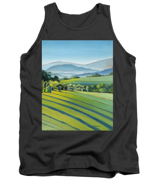 Vineyard Blue Ridge On Buck Mountain Road Virginia Tank Top